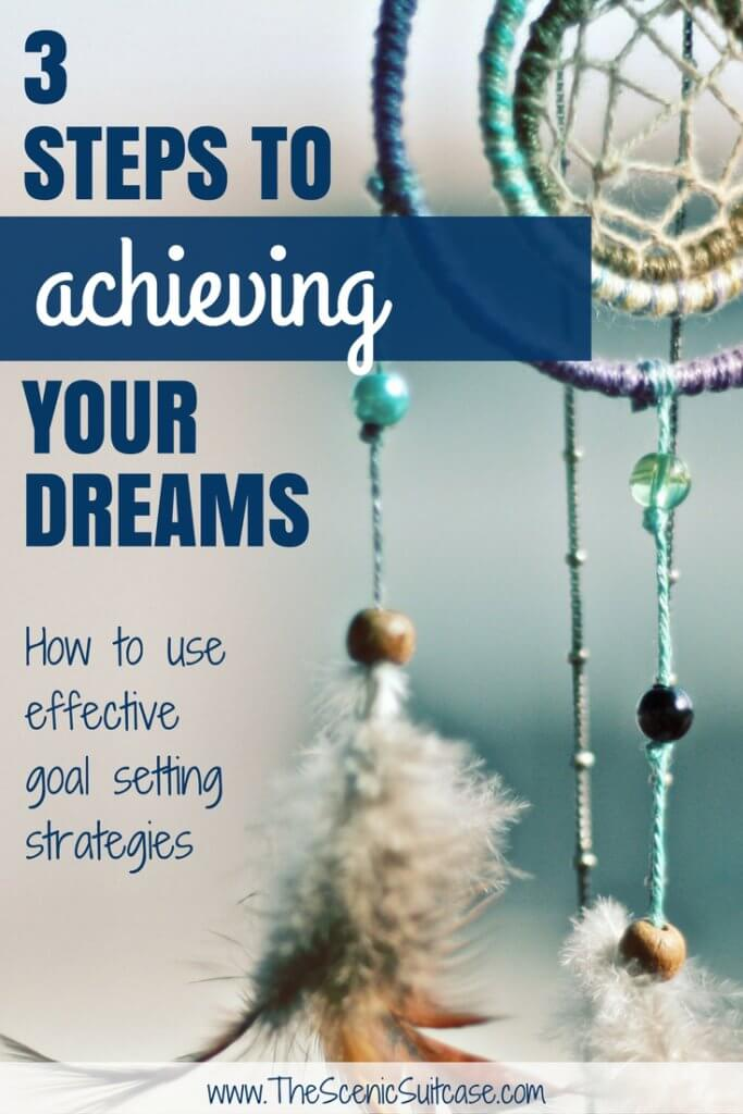 Achieving your Dreams with Effective Goal Setting Strategies