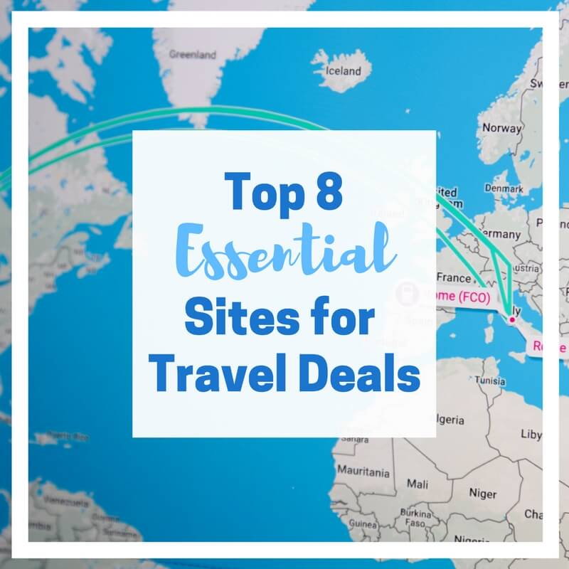 Top 8 essential travel sites the scenic suitcase for Best travel discount websites