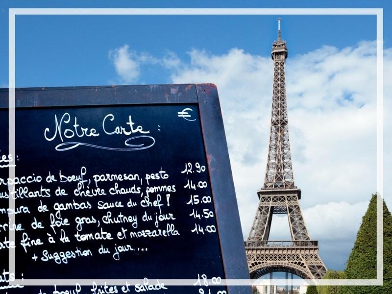 THE BEST RESTAURANTS IN PARIS