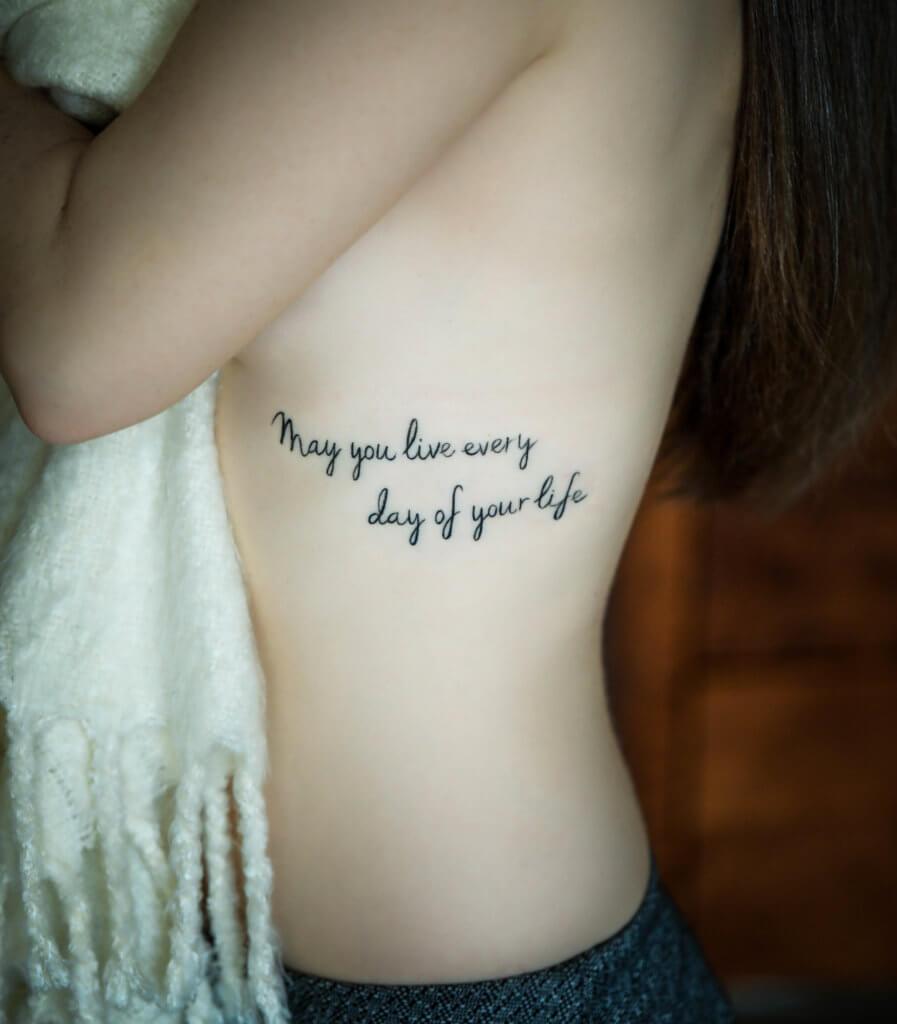Getting A Tattoo At Hart Huntington Las Vegas