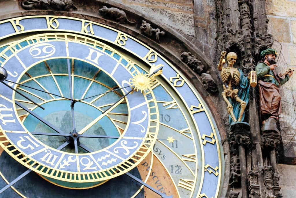 Discover 20 iconic photo locations around the globe the face and figurines of the prague astronomical clock discover 20 of the most iconic gumiabroncs Gallery