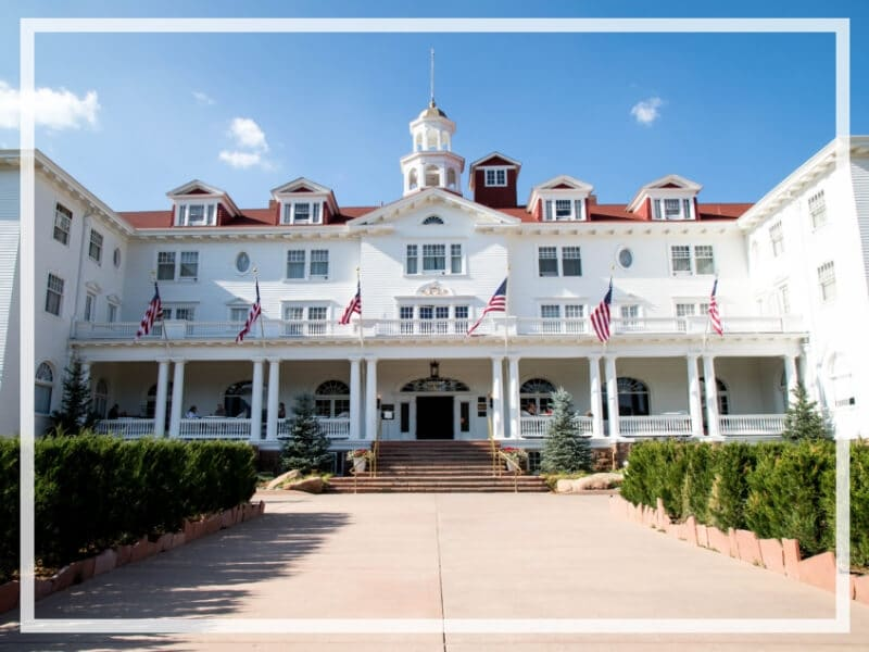 The Stanley Hotel has classic charm, an intriguing past, and otherwordly guests. Discover what it's like to meet ghosts on a Stanley Hotel haunted tour! And for more travel tips and wanderlust inspiration, follow The Scenic Suitcase on Pinterest!