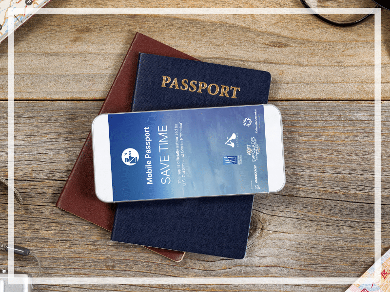 Discover why the Mobile Passport app is a must for international travelers returning to the United States. Including easy step by step instructions! And for more travel tips follow The Scenic Suitcase on Pinterest!