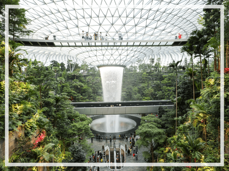 There are countless things to do at Changi Airport. Find out what they are, where to find them, and how much (if anything) they cost! #changiairport #singaporeairport